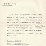 1945 - notizie dal Vaticano